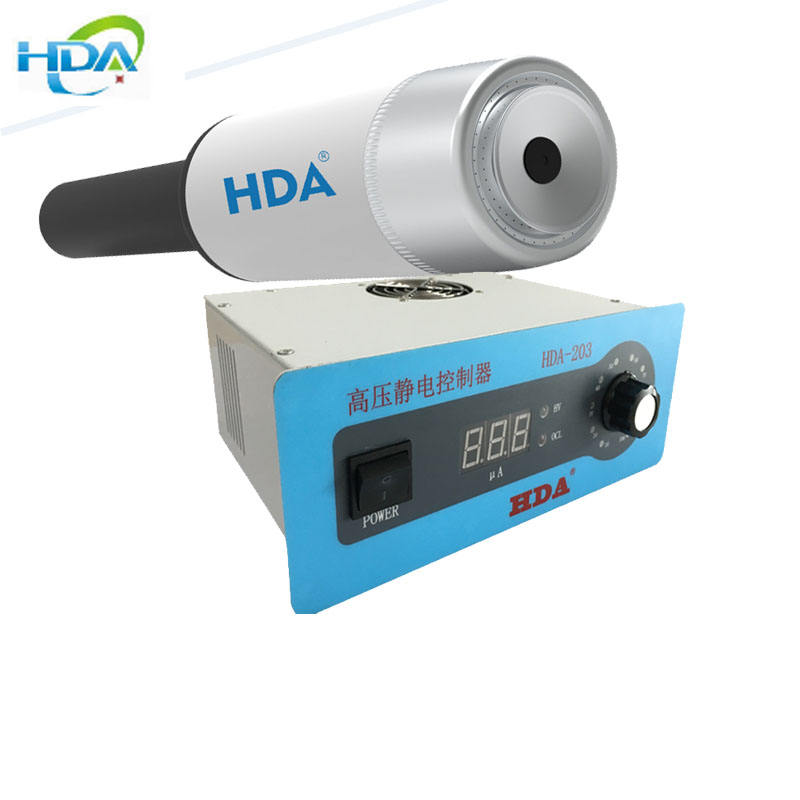 HDA-60 liquid electrostatic spray gun for reciprocator coating automatic rotary bell electrostatic spray gun for paint spray rob