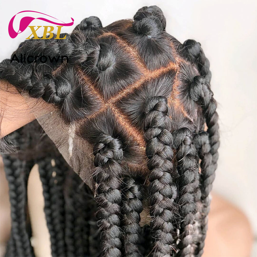 XBL Free Shipping 370 full lace wigs for Black Women, can be braided wholesale brazilian braided hair lace front wigs vendor