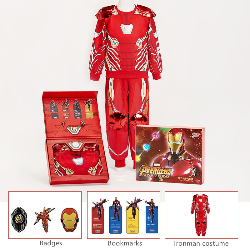 Kids Costumes Party Kids Deluxe Pretend Play Costume Role Play Halloween Party Classic Marvel Ironman For Boys