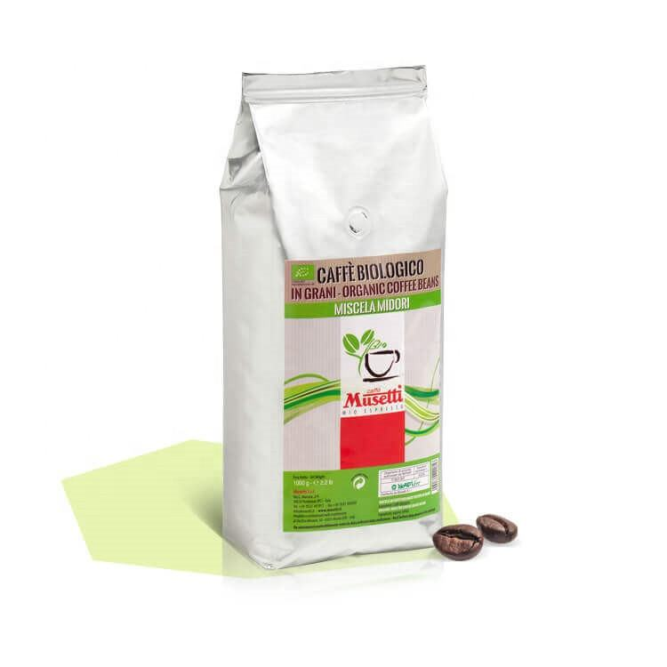 ORGANIC MIDORI 500g BAG coffee beans private label organic coffee beans wholesale