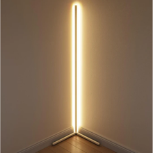 Factory Directly selling Nordic Minimalist Living Room Atmosphere Dimming LED Floor Lamp Aluminum LED Stand Lamp