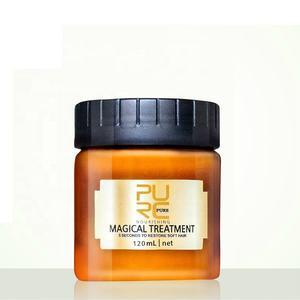 PURC 120ml Magical treatment mask 5 seconds Repairs damage restore soft hair for all hair types keratin Hair Scalp Treatment