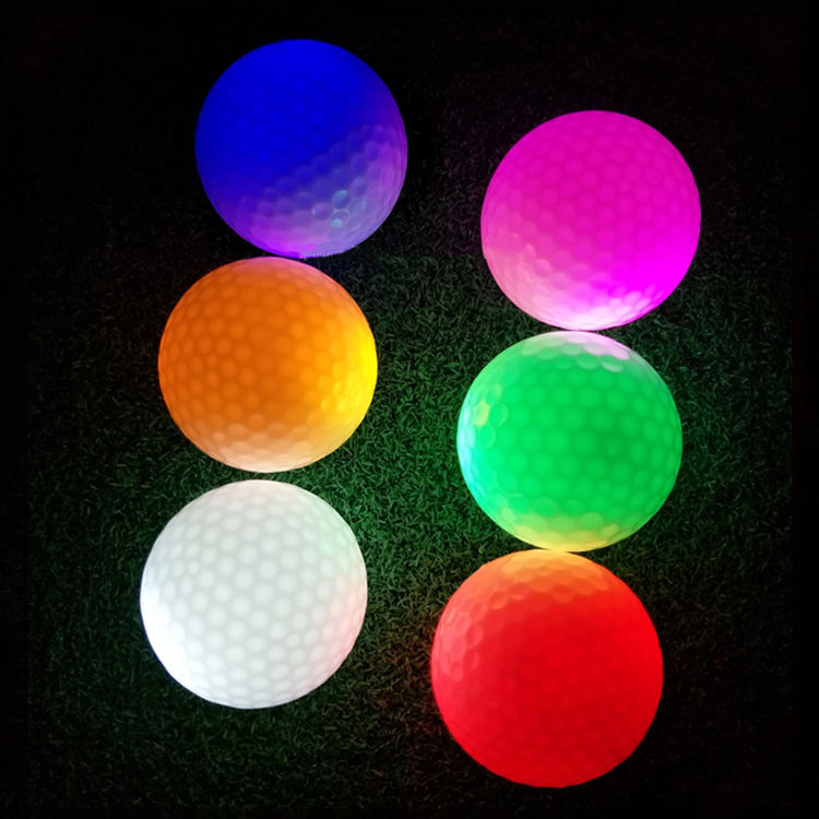 Electronic night flyer LED floating golf Balls