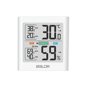 Digital Hygrometer Indoor Thermometer Temperature and Humidity Gauge Monitor Indicator Room Thermometer