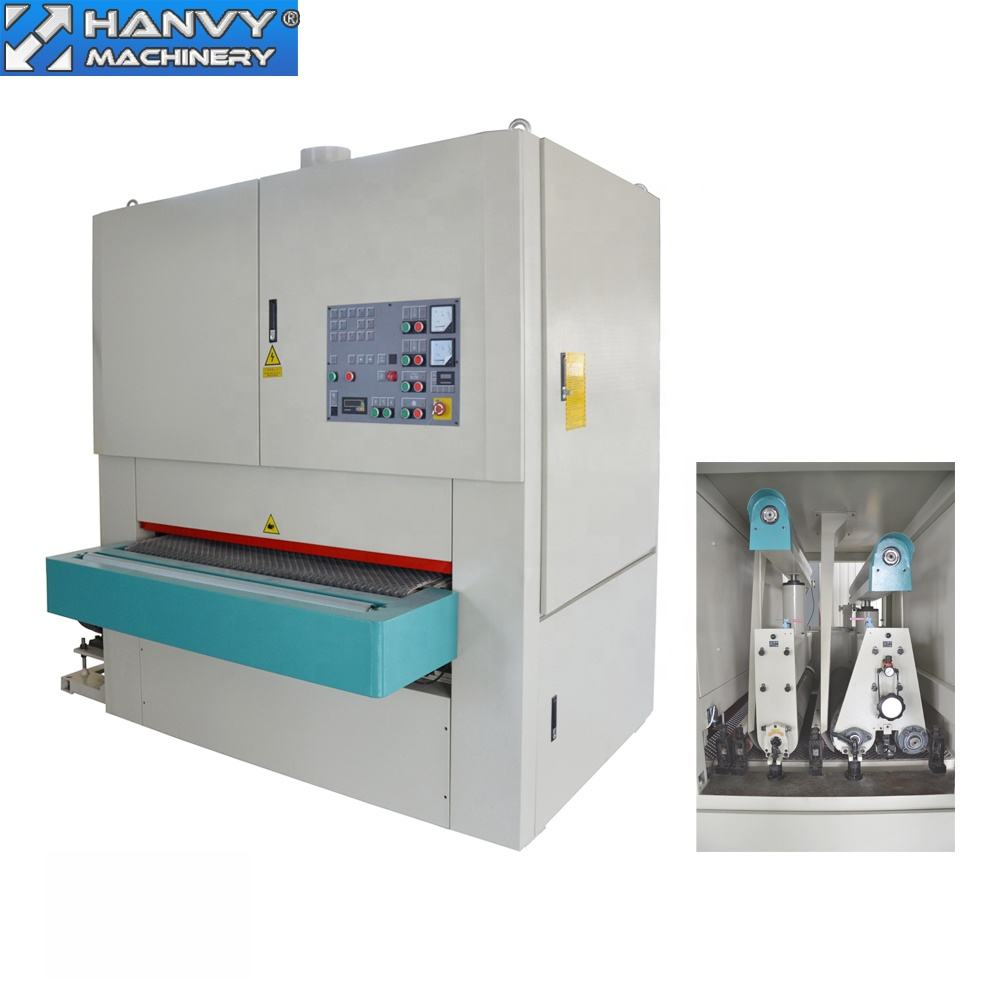 Hanvy Plywood 1300mm width belt sander machine