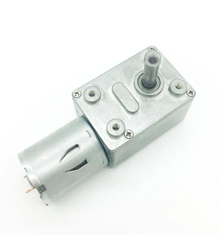 JGA25-370 DC3V 6V 12V 24V Reduction Gear DC Motor with GearBox for Robots /& Cars