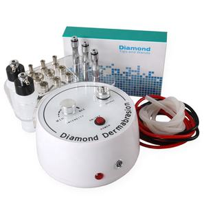 Portable Beauty Equipment 9pcs Hydro Diamond Dermabrasion Tips Microdermabrasion Facial machine