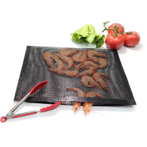 High quality non stick easy clean mesh 20cm*30cm bbq grill bag