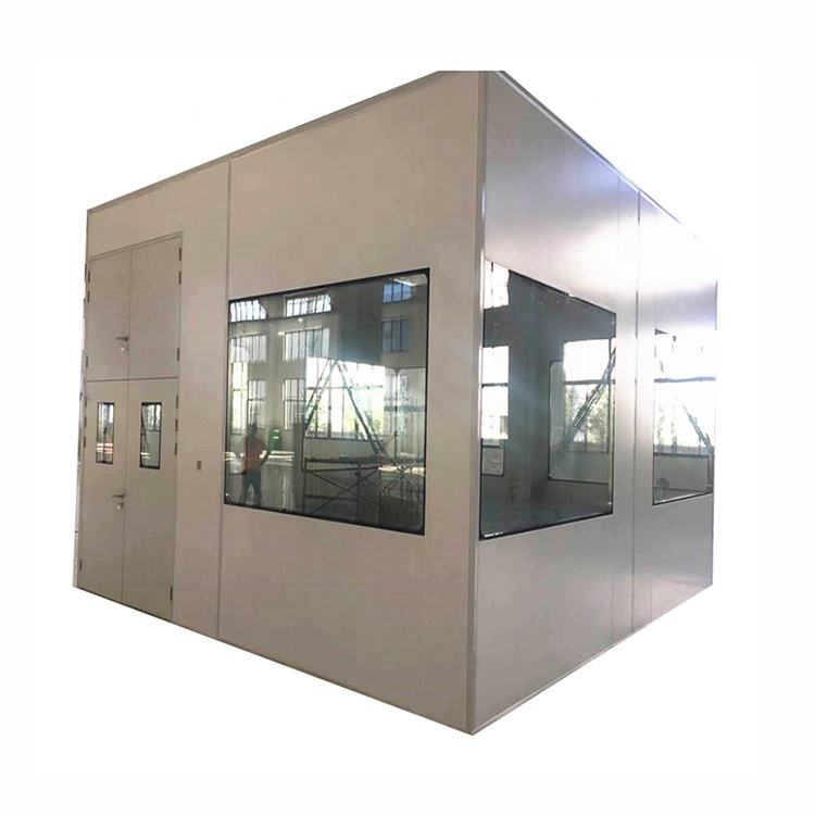 electronic industry Clean Booth with HEPA Fan Filter Unit / clean booth with pass box