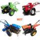 farm mini diesel hand walking tractor motocultor 20hp power tiller walking tractor