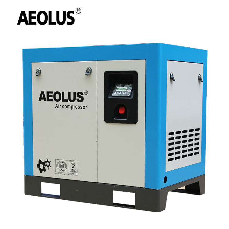 AEOLUS 10HP compressor air 7.5kw screw air compressor