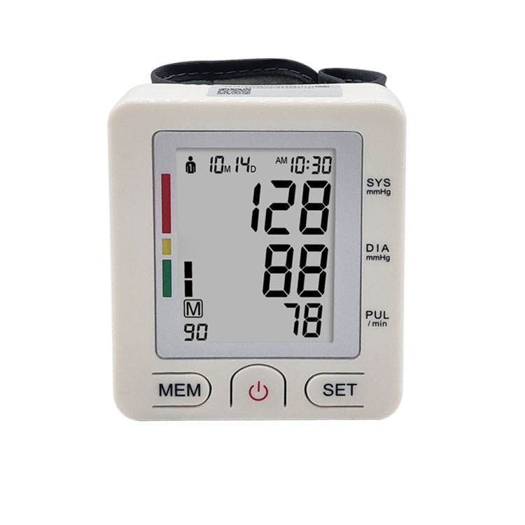 Buy Online Ambulatory A Professional Medical Supplies manual Automatic Electronic digital bp Wrist Blood Pressure Monitor Smart