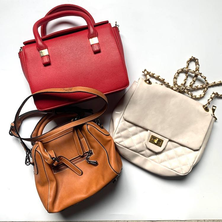 Fashion design famous branded used ladies handbag for sale