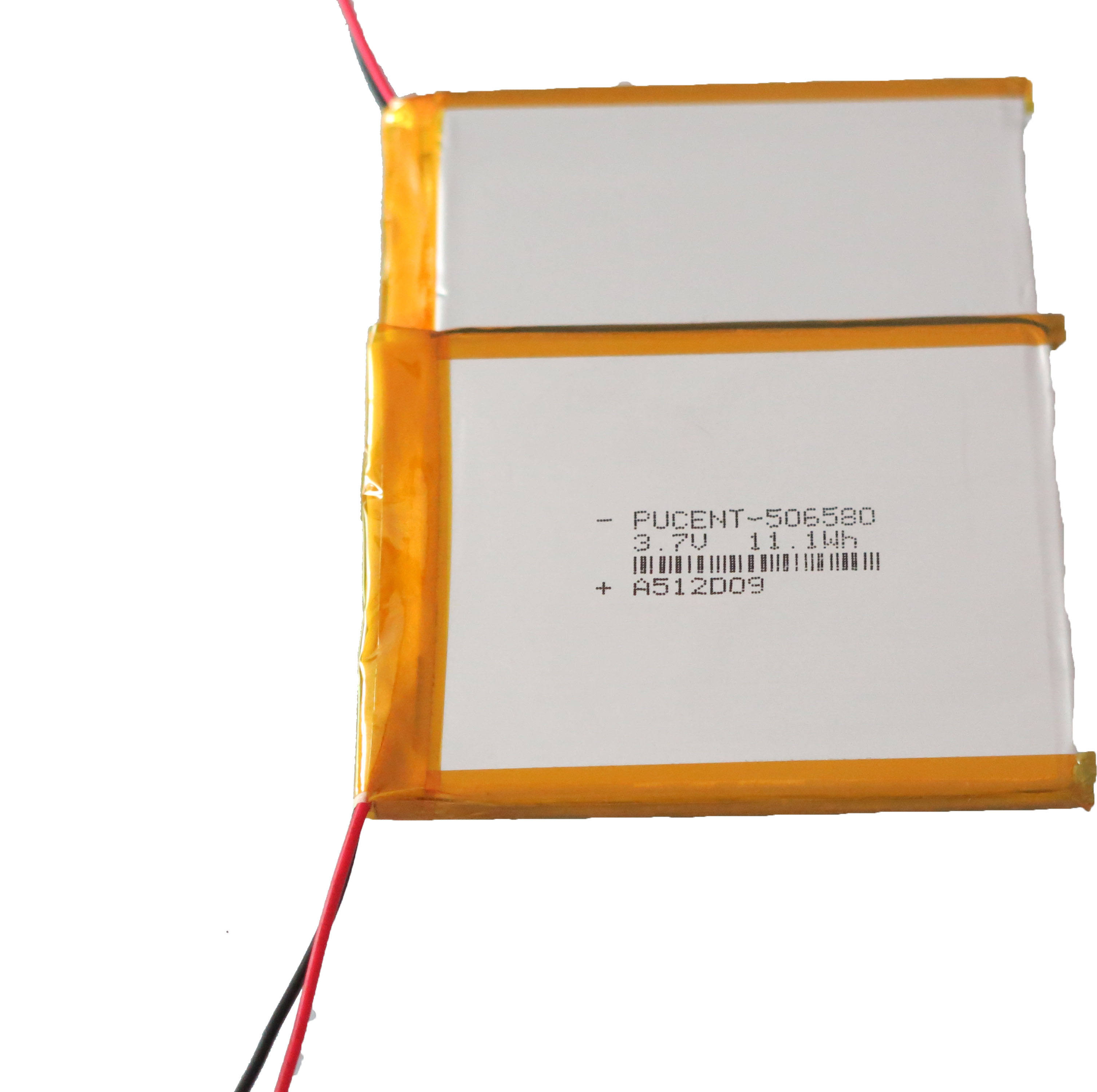 factory direct sale price high quality 506580 li ion 3000mAh 3.7v polymer lithium rechargeable battery