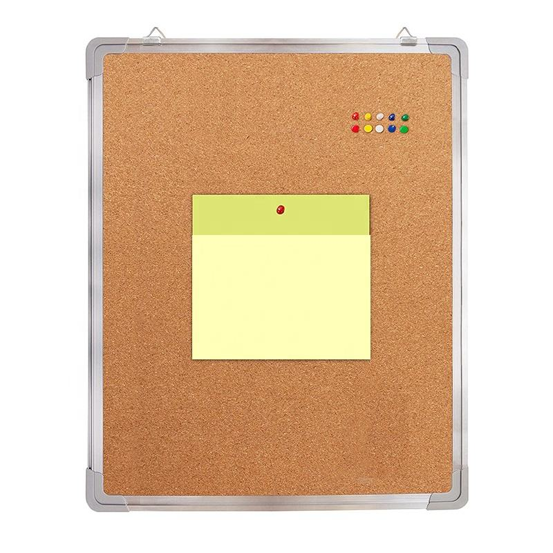Aluminum frame in 60*90cm bulletin notice wall mount notice board
