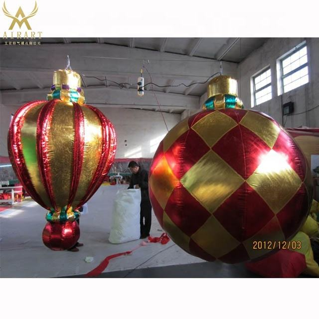 Inflatable disco shining inflatable disco lights mirror ball balloon stand for christmas club party hanging lighting