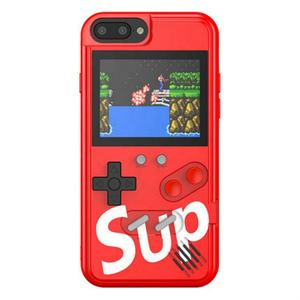 Oplaadbare Handheld 36 Klassieke Sup Video Game Console Shell Cover Retro Game Telefoon Case Voor Game Boy Voor Iphone 11 pro Max