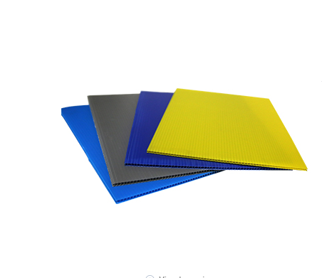 Durable Coloured Sheet PP Hollow Board Polypropylene Hollow Sheet Wantong Board Pp/pe Corrugated Box