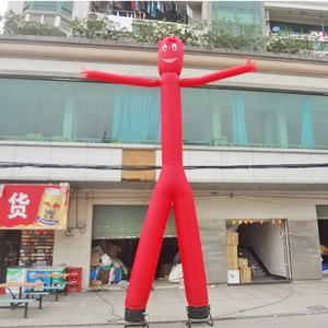 Double legs inflatable sky man inflatable dancing man air dancer blower