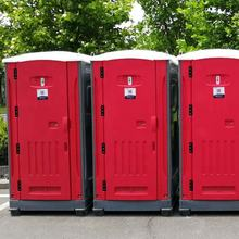 Custom new design low cost public outdoor portable plastic mobile toilets