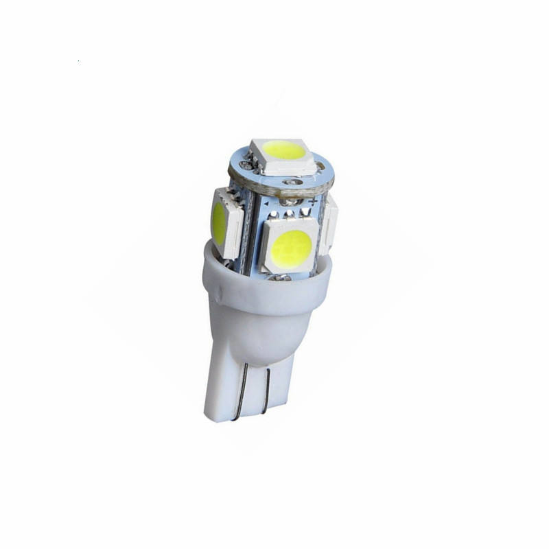 auto led leuchtmittel zubehör 5smd5050 t10 led birnen made in china
