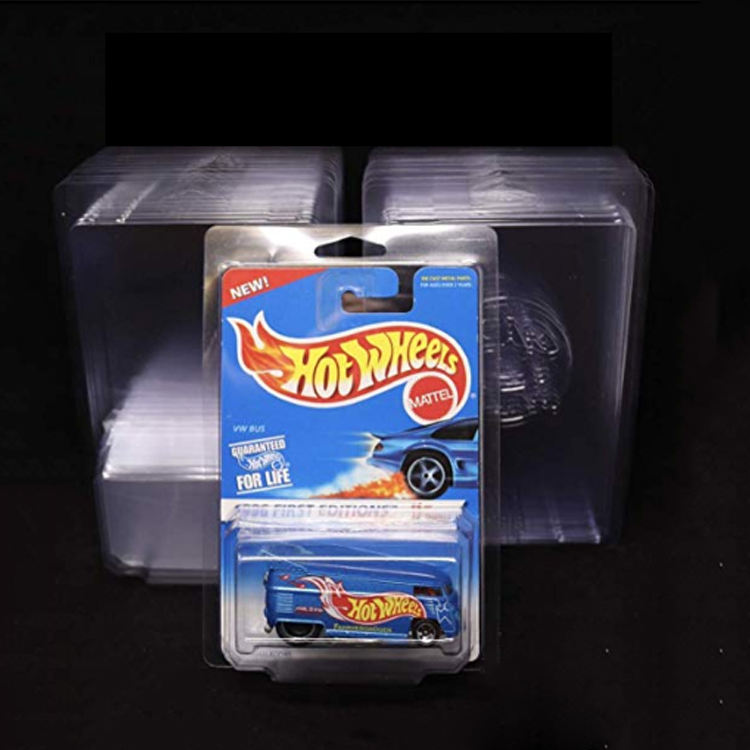 2020 High quality pvc/pet hot wheels protectors plastic clamshell blister packaging
