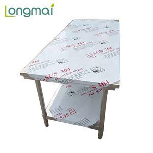 Nuovo Design In Acciaio Inox Heavy Duty In Metallo Tavolo di Lavoro/Linea di Montaggio Tavolo di Lavoro