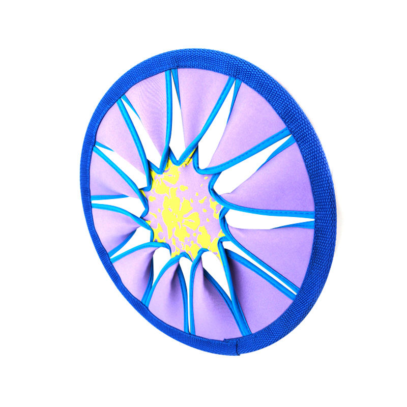 Beach Sports Radiate Series Spin Twist Colors Vary Flying Disc beach disc