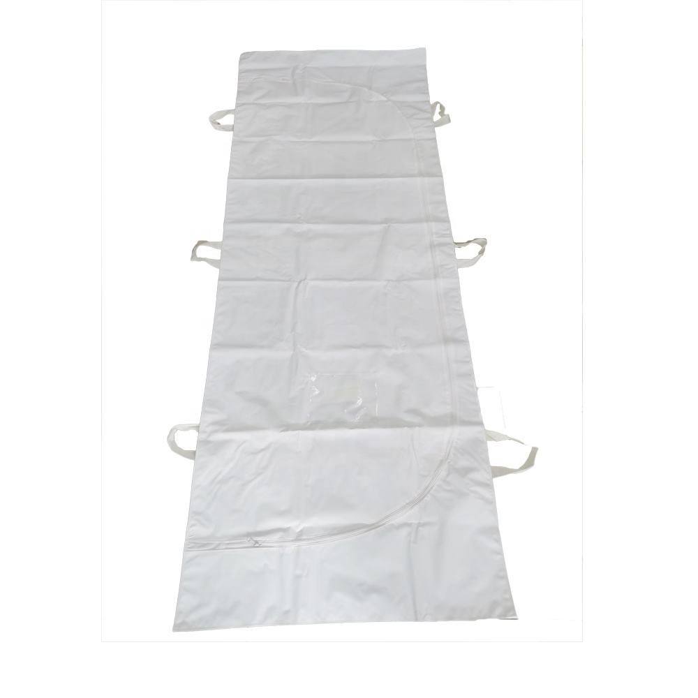 Disposable PEVA Cadaver Dead Body Bag Mortuary Corpse Bag
