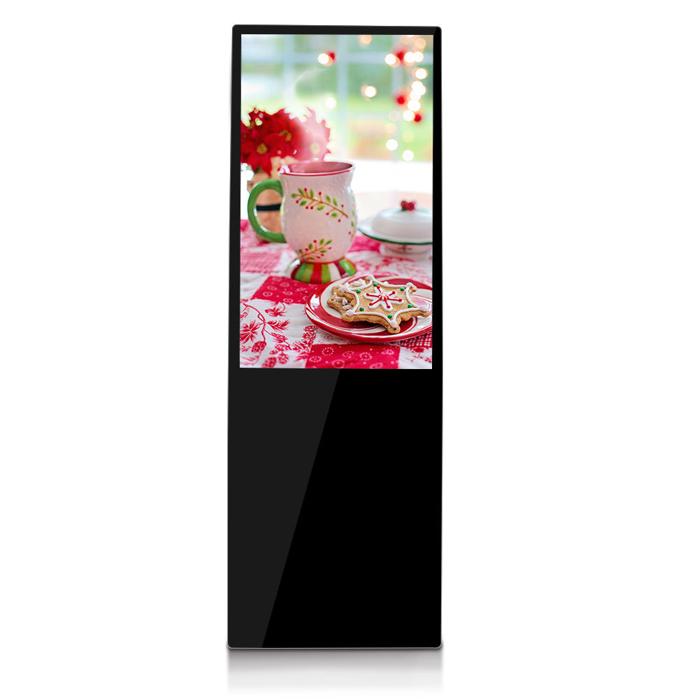 MWE 956 light Slim design foldable stand bracket android digital signage price meeting room digital signage