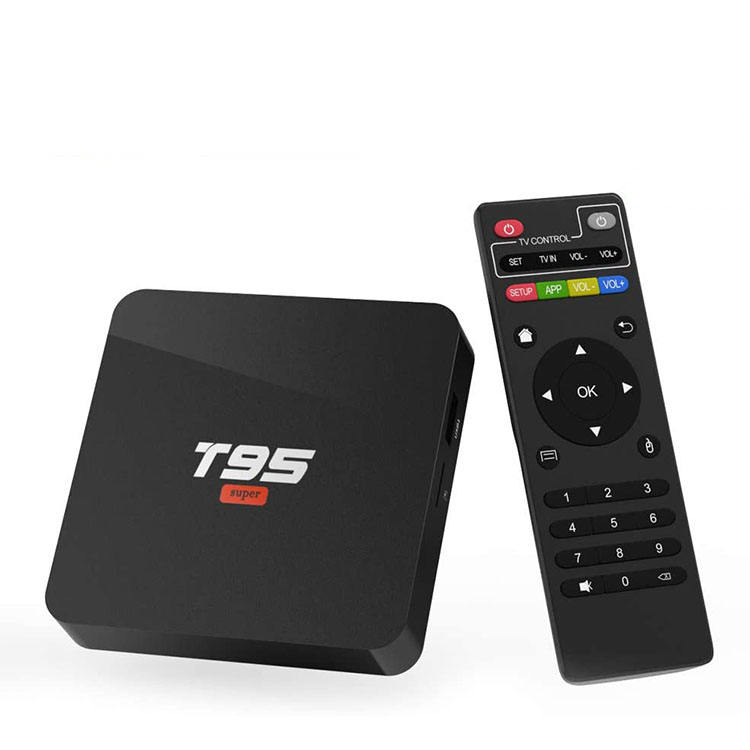 HUASHENGYUN brand 16GB flash android10.0 Operating system TV set top box