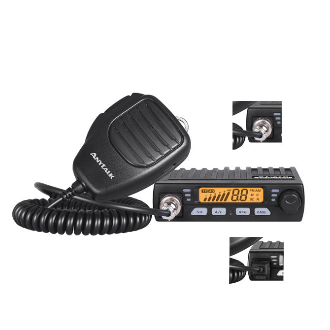 Best selling item 27MHz cb radio hf transceiver Anytalk SSB CB 27S with Large LCD Display mobile walkie talkie