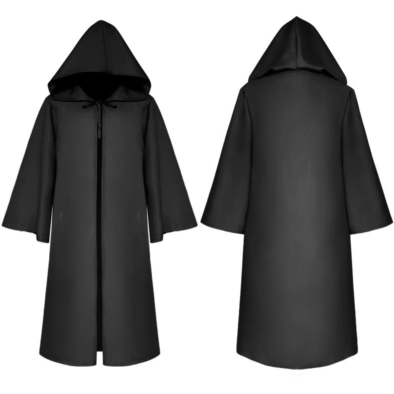 Wholesale Large In Stock Cosplay Party Star DEATH Wars Men Halloween Cloak Costume For Children & Adult