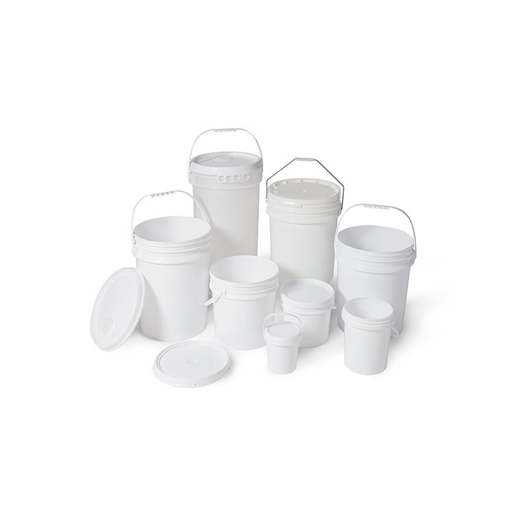 Taiwan Manufacturer Price Recycled Round Plastic Hdpe Bucket With Lids And Handle