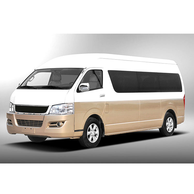 Hot Flatship Big Hiace Model Minibus Van Mini bus Micro City bus 18 seats arm-rest high roof Diesel DK4 Toyota technology LHD
