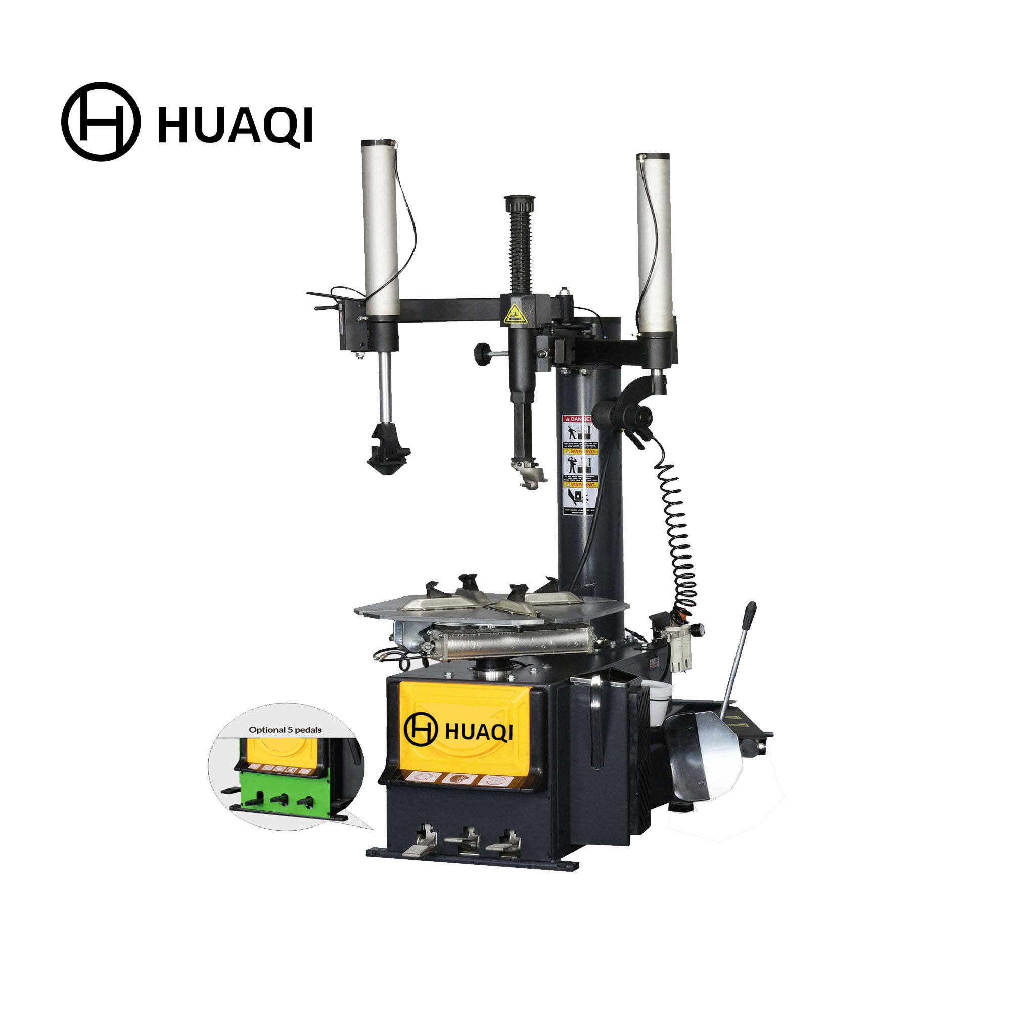 "Rim diameter between 9""-25"" 2019 new designed two helper hands tyre changer for sale Model No.:906A"