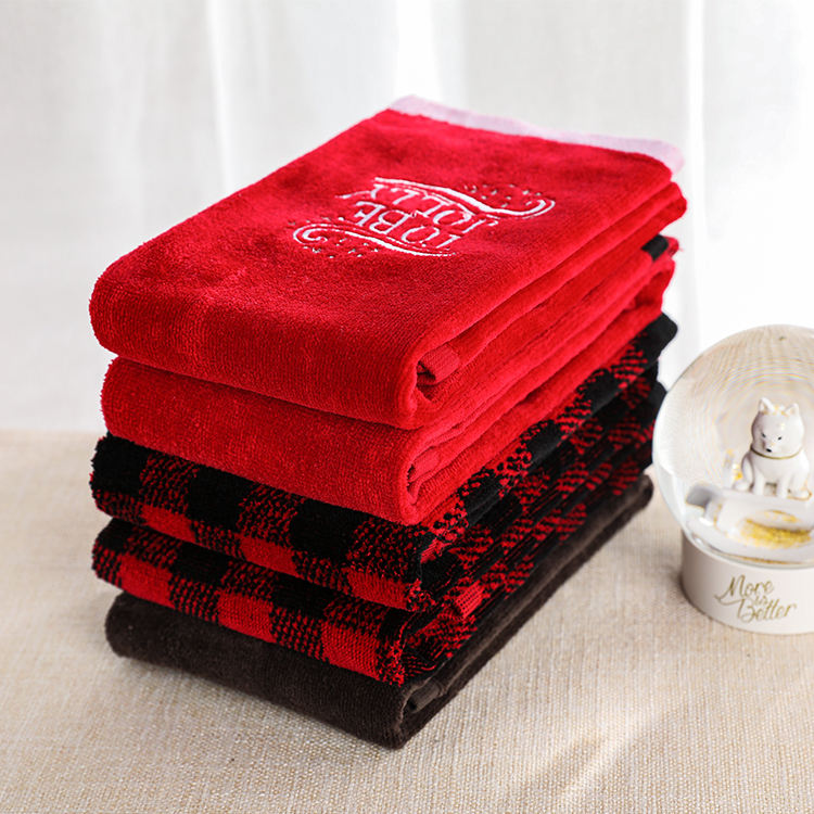 High Quality Embroidered 100% Cotton Kitchen Hand Towel