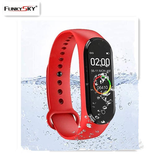 Smart Band Fitness M4 Sports Bracelet Pedometer Heart Rate Blood Pressure Bluetooth Wristband M4 Waterproof Smartband