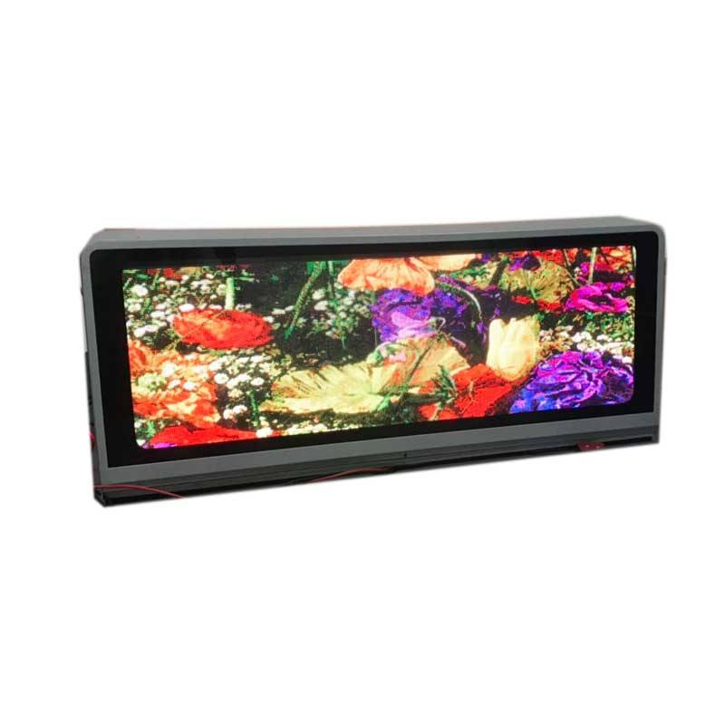 P 2,5 P3 P5 outdoor taxi top led display/wifi doppelseitige taxi led werbung display