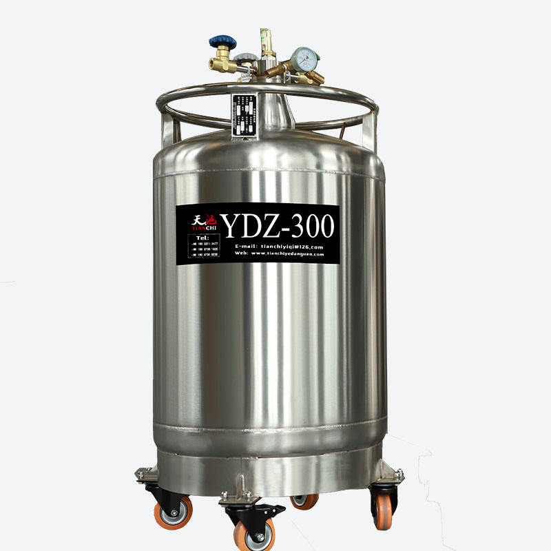 Factory Price Medical Cryogenic Freezer Biobank Semen Tank YDD Series Liquid Nitrogen Dewar Sperm Embryo Bank