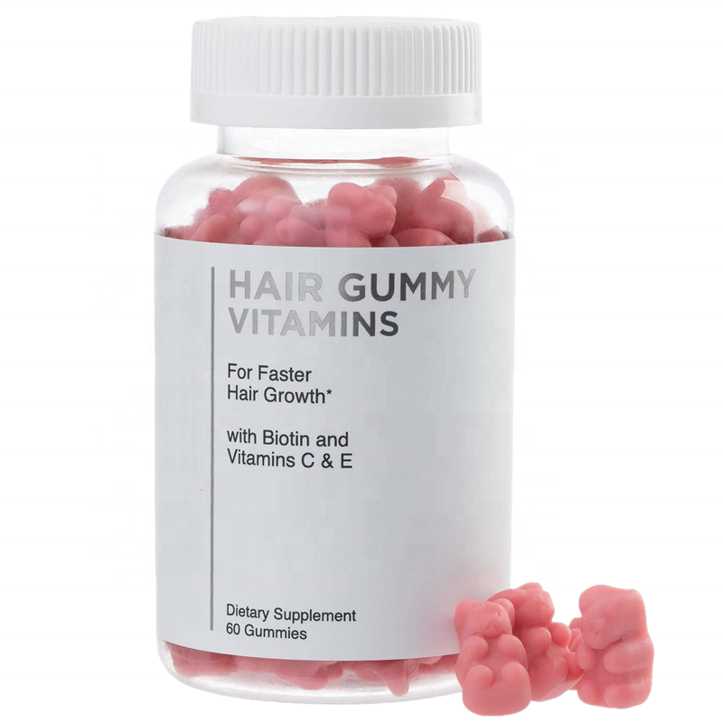 Private label hot sale FDA certificate hair gummy bears vitamin gummies