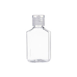 60/100ml hand washing gel round bottle 20/410 flip cap stock container