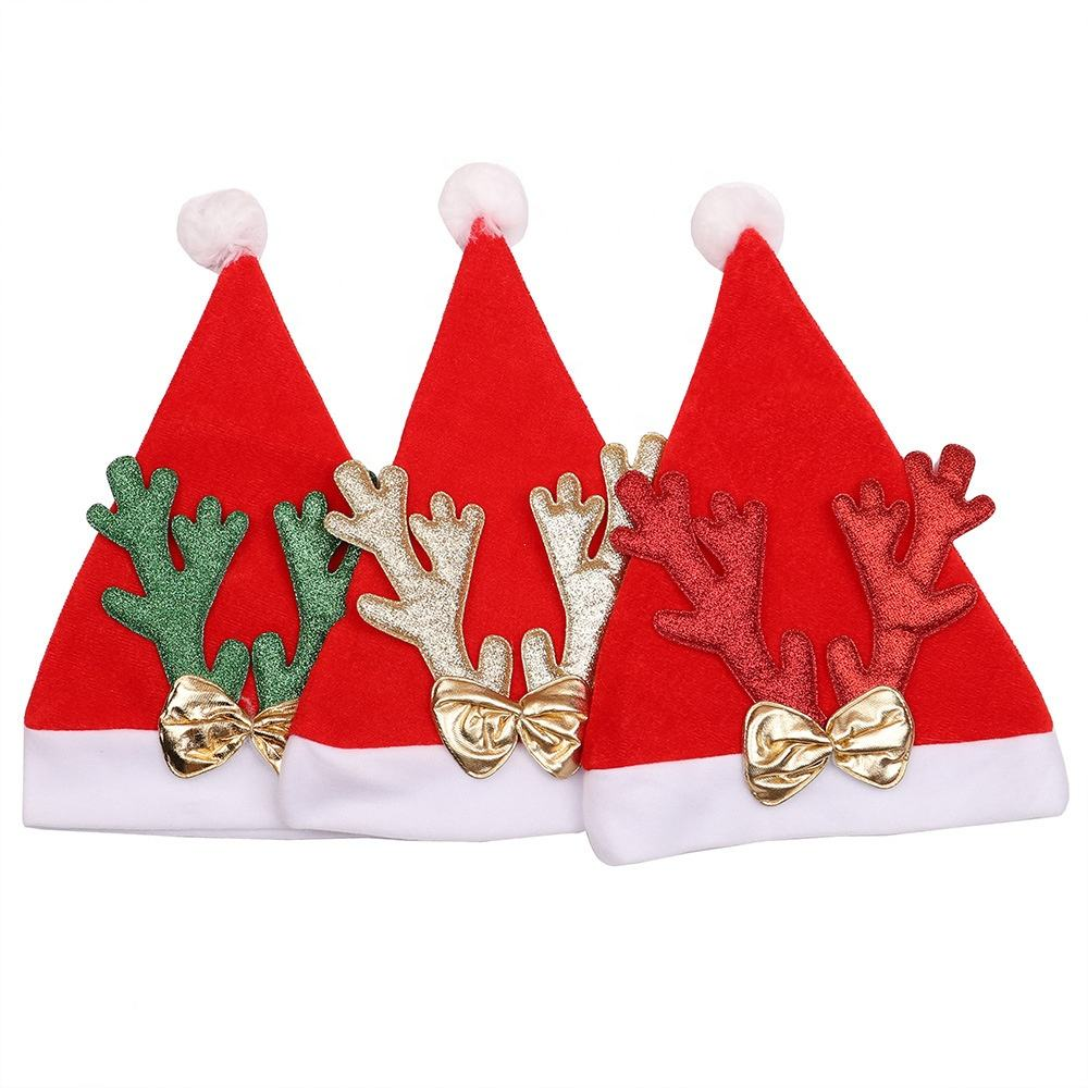 Christmas Decoration Children Snowman Deer Modeling Party Christmas Hat