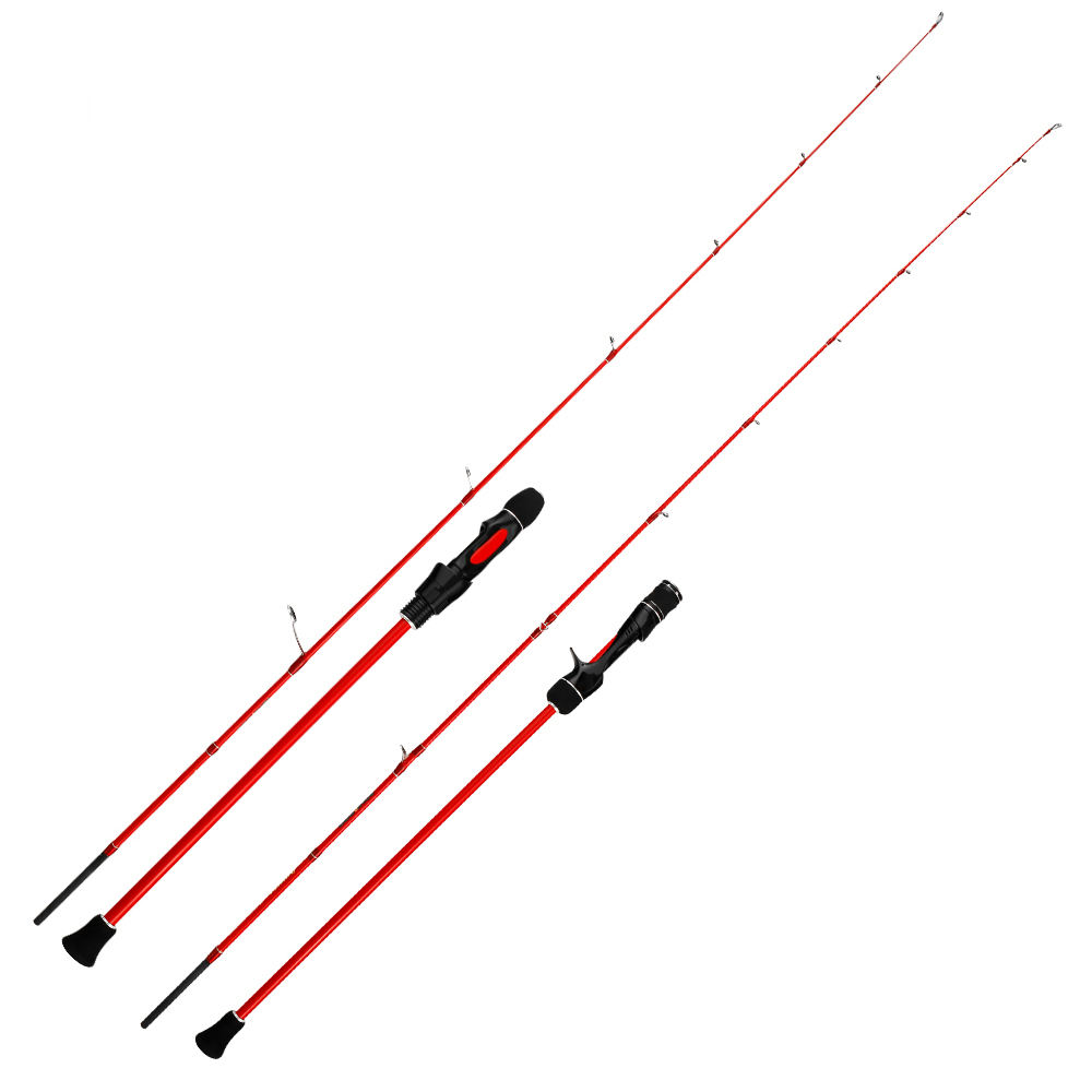 Spot OEM ODM Light jigging rod PE0.8-1.5 boat Fishing rod Lure 30-80g 1.68m 1.8m 1.98m carbon Solid sensitive tip Snapper rod