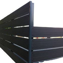 High Quality WPC Board Easy Install Wood Plastic Composite Fence Panel