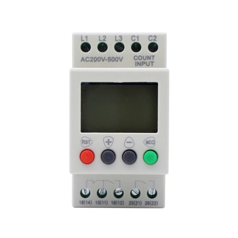 MR08 Fase-uitval Apparaat Sequence Controller Fase Omkering Drie Fase Elektrische Voltage Monitoring Relay Overvoltage380-600v
