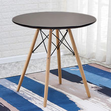 Nordic Style Modern Round And Classic Design Luxury Home Furniture MDF Wooden Coffee Table