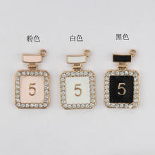 New design perfume bottles with diamond pendant for bracelet,necklace