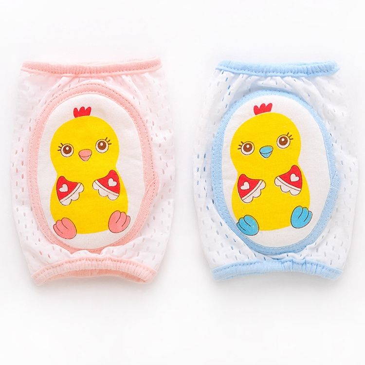 Breathable Baby Toddler Infant Crawling Anti-Slip Elbow Knee Pads Protector