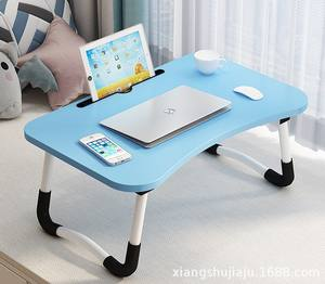 Amazon Hot Seal Home Working Multifunctional Laptop Table For Bed Tray Foldable Lap Desk Stand With Cup Holder